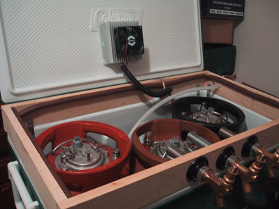 Peltier Fermentation Cooler Brewboard
